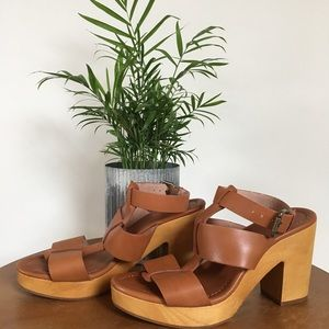 MADEWELL Gladiator Sandals with Ankle Strap